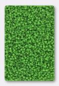 Miyuki Delica 15/0 DBS 0724 opaque green x5g
