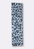 Ruban stretch 30 mm snow leopard x1m