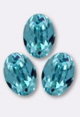 Cabochon 4120 14x10 mm light turquoise F x1