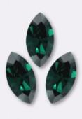 Navette 4228 10x5 mm emerald F x1