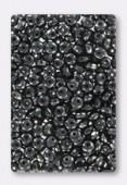 Ronde aplatie 4x2.5 mm hematite x50