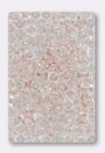 Ronde aplatie 4x2.5 mm pink x50