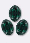 Cabochon 4120 14x10 mm emeraldt F x1