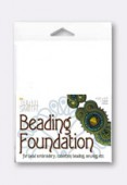 Base Beading Foundation 13.97x10.80 cm blanc x1
