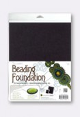 Base Beading Foundation 27.94x21,59 cm noir x1