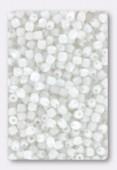 Facette 2 mm chalk white x50