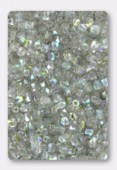 Facette 2 mm crystal blue rainbow x50