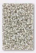 Miyuki Delica 11/0 DB0221 white opal gilt lined x10g