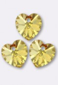 Coeur 6228 10.3x10 mm crystal metallic sunshine x4
