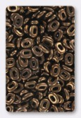 One bead 5x3 mm bronze x10gr