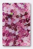 Toupie 5328 4 mm mélange pétales de roses x50