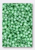 Facette 2 mm pastel light green x50