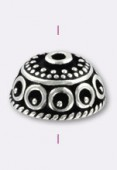 Argent 925 Bali style coupelle 10x5 mm x1