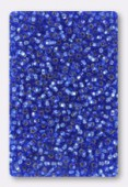 Rocaille 2 mm  light sapphire silver-lined x20g