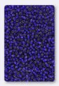 Rocaille 2 mm cobalt silver-lined x20g