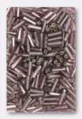Rocaille tube 2x6 mm améthyste clair x20g