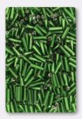 Rocaille tube 2x6 mm péridot x20g
