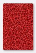 Miyuki rocaille 15/0 SB0408 opaque dark red x10g
