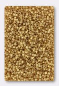 Miyuki Delica 11/0 DB0230 24Kt gold lined opal x5g