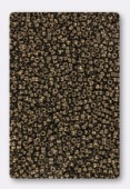 Miyuki rocaille 15/0 SB0457 metallic dark bronze x10g