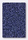 Miyuki Delica 11/0 DB0377 metallic dark grey-blue matted x10g