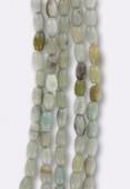 Amazonite olive 4x6 mm x12