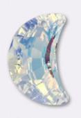 Pendentif lune 6722 20 mm crystal AB x1