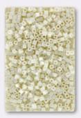 Miyuki Square beads 1.8 mm SB0421 cream ceylon x10g