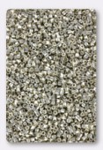 Miyuki Delica Hexcut 11/0 DBC0035 galvanized silver x10g