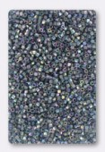 Miyuki Delica Hexcut 11/0 DBC0111 transparent blue grey luster AB x10g