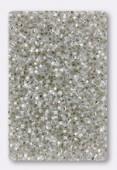 Miyuki Delica Hexcut 11/0 DBC0041 Msilver lined crystal x10g