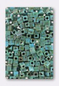 Miyuki square beads 4 mm SB-4514 opaque seafoam green x20g