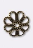 Coupelle 10 mm bronze x12