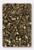 Miyuki Half Tila Beads HTL-0457 metallic dark bronze x10g
