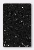 Miyuki Half Tila Beads HTL-0401 black x10g