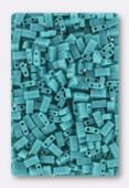 Miyuki Half Tila Beads HTL-0412 opaque turquoise green x10g