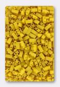 Miyuki Half Tila Beads HTL-2311 opaque canary matted x10g