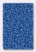 Rocaille 2 mm capri blue opaque x20g