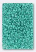 Rocaille 2 mm teal matte x20g