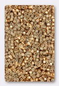 Miyuki Square beads 1.8 mm SB-1053 galvanized yellow gold x10g