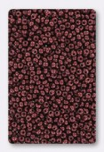 Rocaille 2 mm burgundy opaque luster x20g