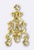 Estampe chandelier 20x12 mm or x1