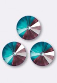 Cabochon rivoli 1122 12 mm crystal burgundy DeLite x1