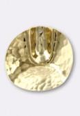 Estampe pendentif Vienna 30 mm or x1