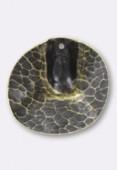 Estampe pendentif Vienna 30 mm bronze x1