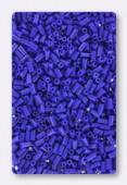 Miyuki bugle 3 mm opaque cobalt x10g