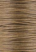 Coton ciré Haute Fantaisie 0.90 mm camel x1m