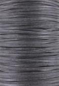 Coton ciré plat Haute Fantaisie 1.50x0.60 mm anthracite x 1m