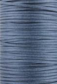 Coton ciré plat Haute Fantaisie 1.50x0.60 mm bleu pétrol x 1m