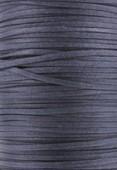 Coton ciré plat Haute Fantaisie 1.50x0.60 mm gris charbon x 1m